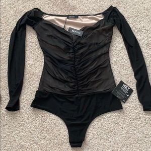 Nelly - Nly one size small mesh body